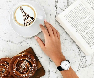 paris, watch, and book image