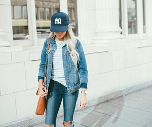 beauty, shoes, and denim image