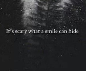 smile, sad, and scary image