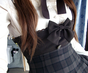 girl, cute, and uniform image