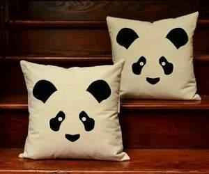 beuty, girl, and panda image