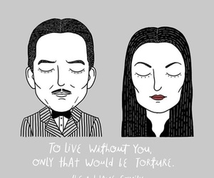 couple, the addams family, and love image
