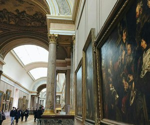 art, france, and louvre image