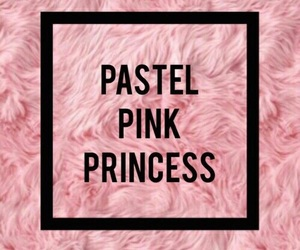 pink, pastel, and princess image