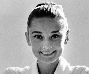 audrey hepburn, b w, and beautiful image