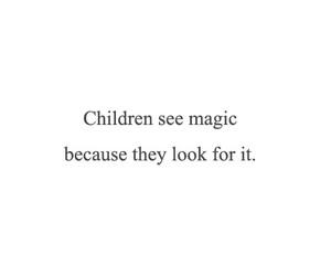 quotes, child, and magic image