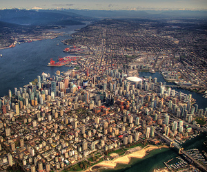 city and vancouver image