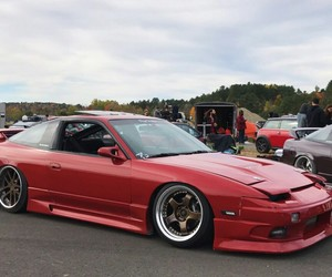 cars, jdm, and nissan image