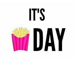 friday, fries, and tgif image