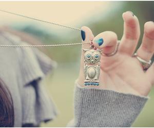 owl, pendant, and melinwonderland image