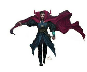 Marvel and doctor strange image