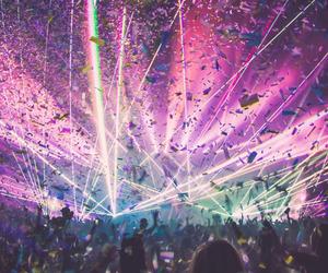 confetti, dance, and music image