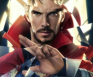 Marvel, doctor strange, and art image