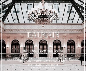 Balmain, pink, and rose gold image