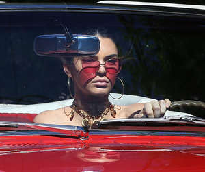 kendall jenner, red, and aesthetic image