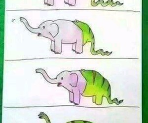 funny, dinosaur, and animal image
