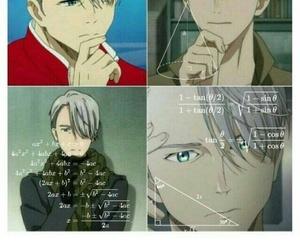 anime, yuri on ice, and funny image
