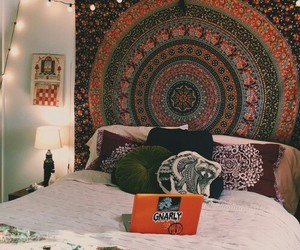 fashion, hippie, and mandala image