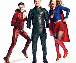 arrow, melissa benoist, and the flash image