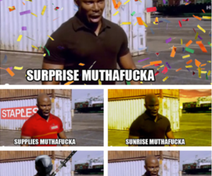 Dexter, surprise, and muthafucka image