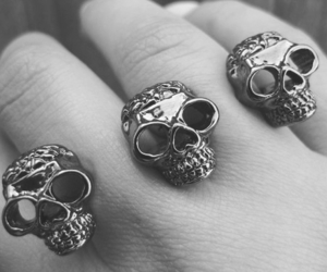 bones, fingers, and ring image