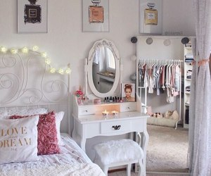 room, decor, and bedroom image