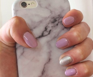 iphone, nails, and hybrydy image