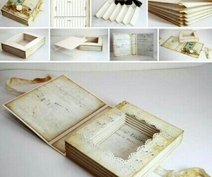 book, box, and diy image