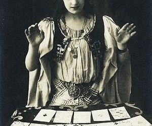 vintage, tarot, and fortune teller image