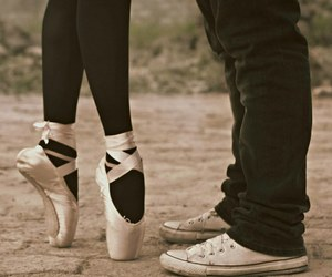 love, ballet, and dance image