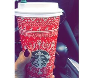 christmas, coffee, and girly image