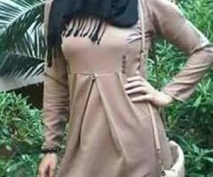 chic, fashion, and hijabista image