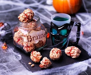 food, Halloween, and recipes image