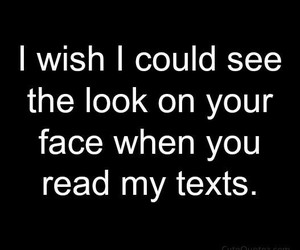 love, look, and text image