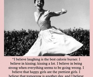quotes, audrey hepburn, and pink image