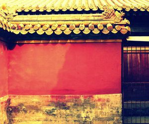 Forbidden city, vintage, and wall image