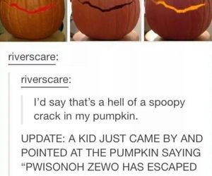 doctor who, pumpkin, and prisoner zero image