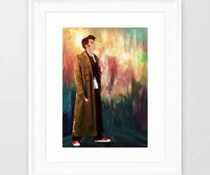 david tennant, doctor who, and typograph image