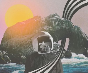 astronauta, background, and color image
