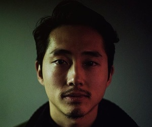 twd, steven yeun, and the walking dead image