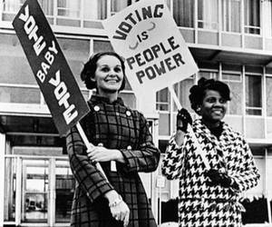 feminism, revolution, and sign image
