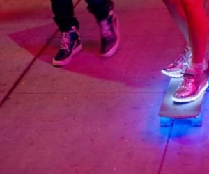 glow, pink, and grunge image