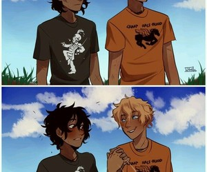 nico di angelo and will solace image
