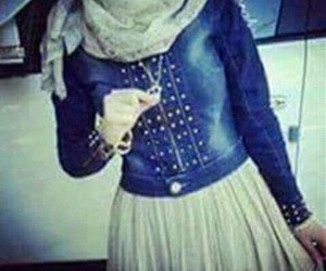 chic, hijabista, and cool image