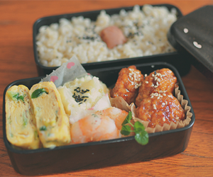 bento, food, and delicious image