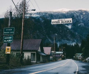 alaska, mountains, and nature image