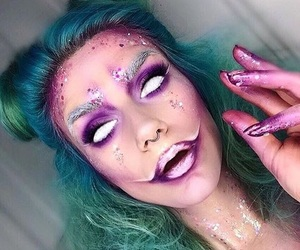 Halloween, makeup, and cosmetics image