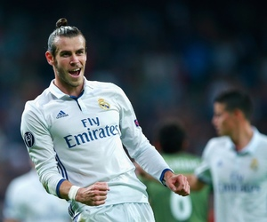bale, football, and madrid image