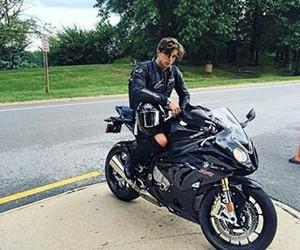 automobile, boy, and moto image
