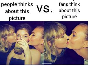 funny, Karlie Kloss, and Taylor Swift image